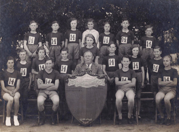 1936 island school sports champions St Saviours school