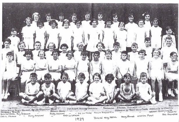 1939 school sports