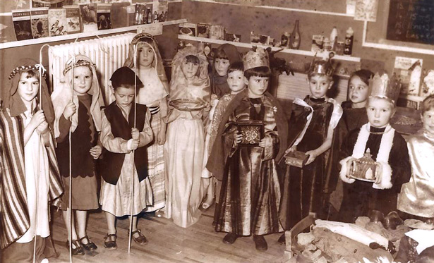 St Saviours school Christmas panto late 60s